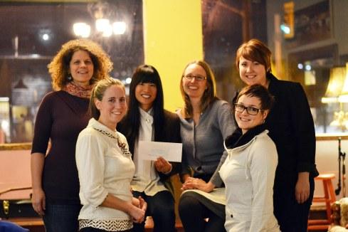 Some of the amazing women behind the Tontine Awards. (Brier Dodge/Metroland Media www.ottawacommunitynews.com).