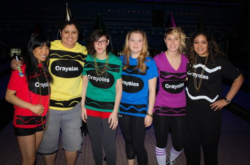 You got pretty creative with your team, the Crayolas, last year.